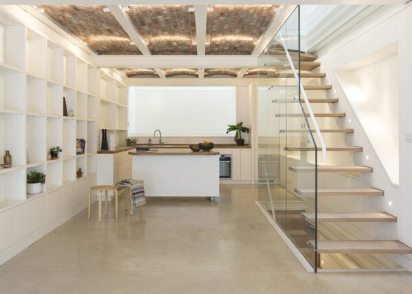 Mews house transformed into light, energy efficient accommodation