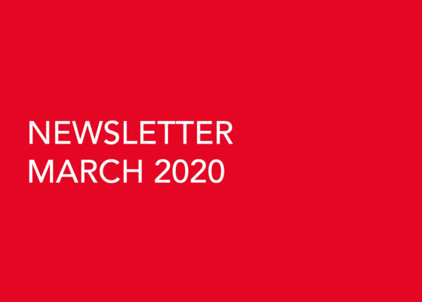 Edward Williams Architects - Newsletter March 2020