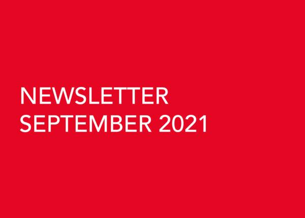 Edward Williams Architects - Newsletter September 2021