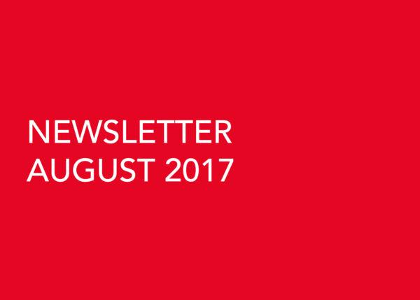 Edward Williams Architects - Newsletter August 2017