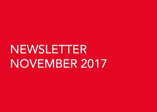 Edward Williams Architects - Newsletter November 2017