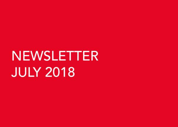 Edward Williams Architects - Newsletter July 2018