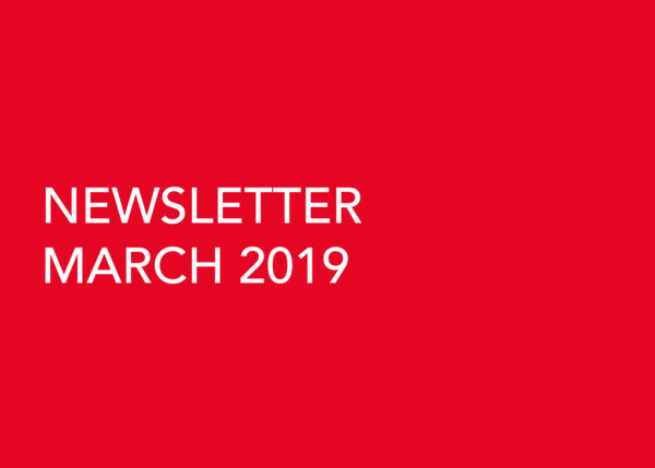 Edward Williams Architects - Newsletter March 2019