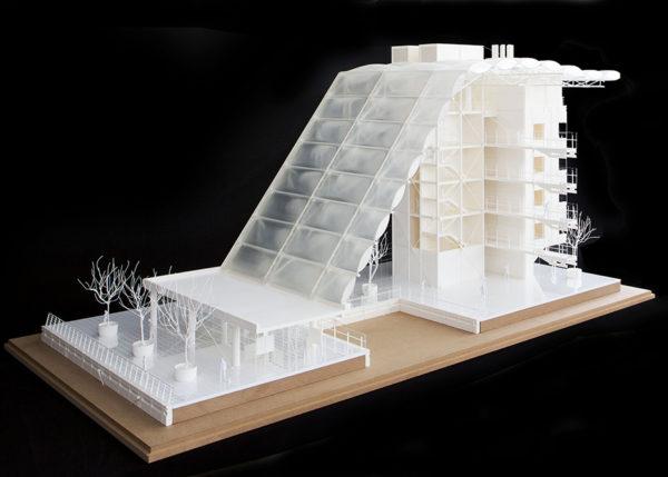 Midland Metropolitan Hospital core model at the Royal Academy Summer Exhibition 2019