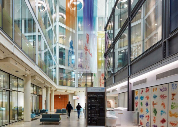 The Grafton Way building wins the Interior Design and the Arts at the European Healthcare Design Congress